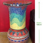Twalva vase Height: 100cm