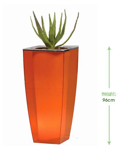 Perspex E-cone tall Height: 96cm