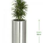 51cm Premier round (stainless steel) Height: 90cm